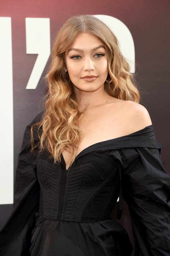 "Gigi Hadid attends the ""Ocean's 8"" World Premiere at Alice Tully Hall on June 5, 2018 in New York City"