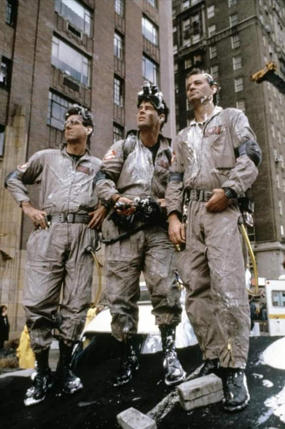 The Cast of 'Ghostbusters': Harold Ramis, Dan Aykroyd and Bill Murray.