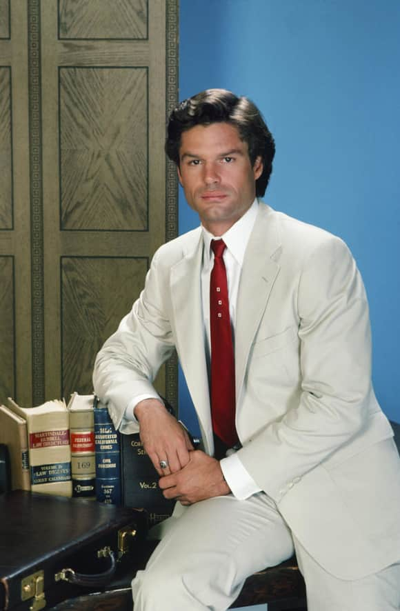 """Harry Hamlin played the role of """"Michael Kuzak"""" on L.A. Law"""