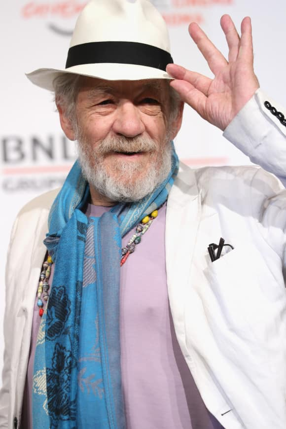"""Gandalf"" alias Sir Ian McKellen was knighted in 2007"