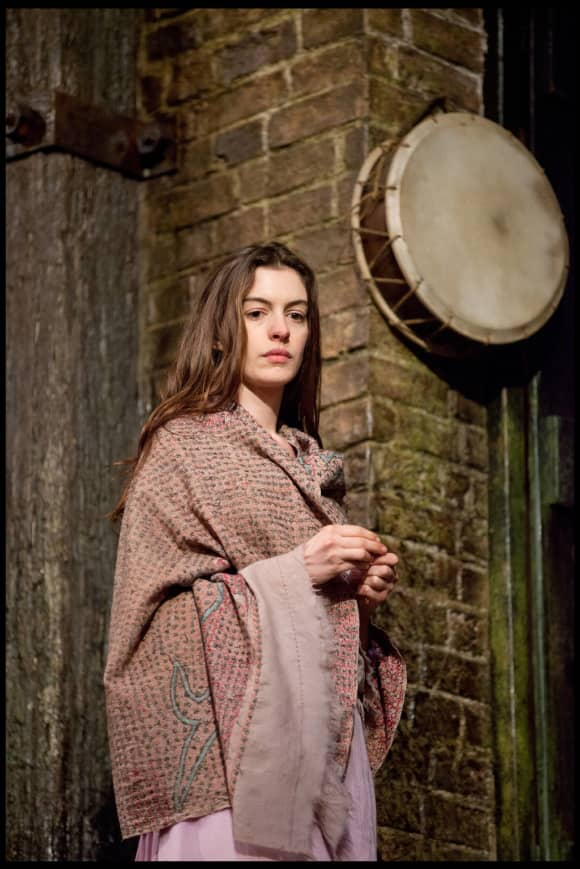 Anne Hathaway in the 2012 film, Les Misérables.