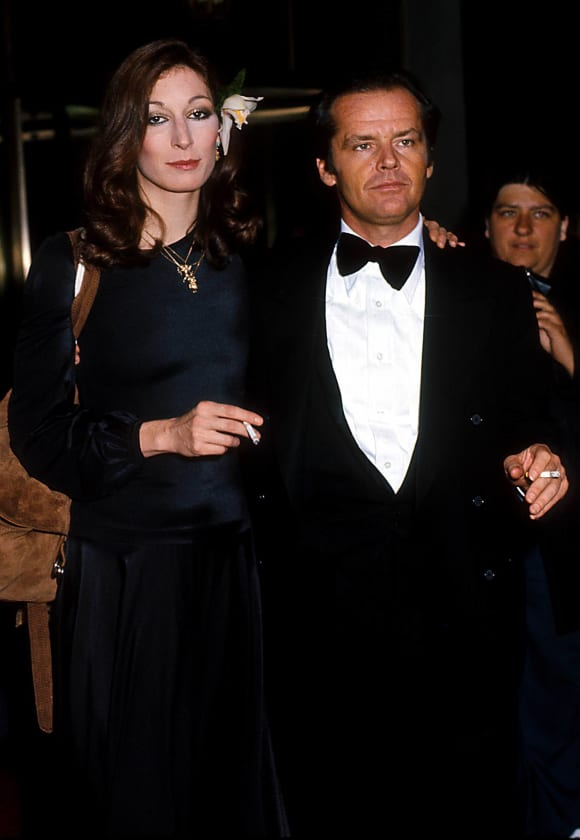 Jack Nicholson and Anjelica Huston, 2011