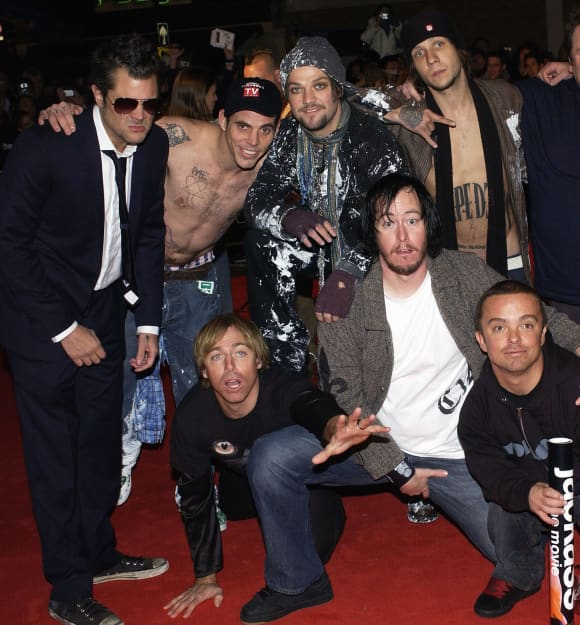 The cast of 'Jackass'