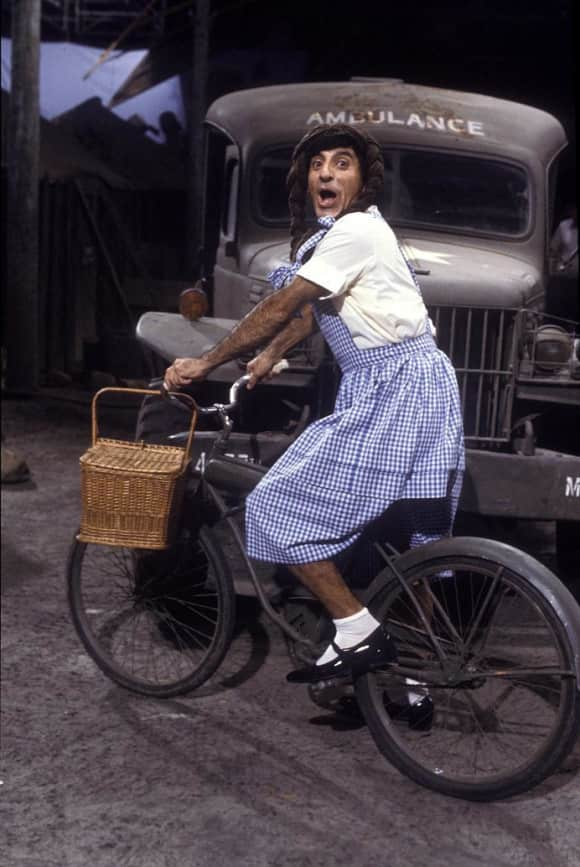 "Jamie Farr played ""Mas Klinger"" in ""M*A*S*H"""