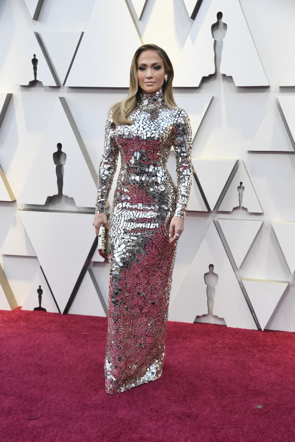 Jennifer Lopez attends the 91st Annual Academy Awards on February 24, 2019 in Hollywood, California.