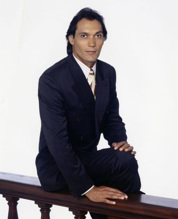 """Jimmy Smits played the attorney """"Victor Sifuentes"""" L.A. Law"""