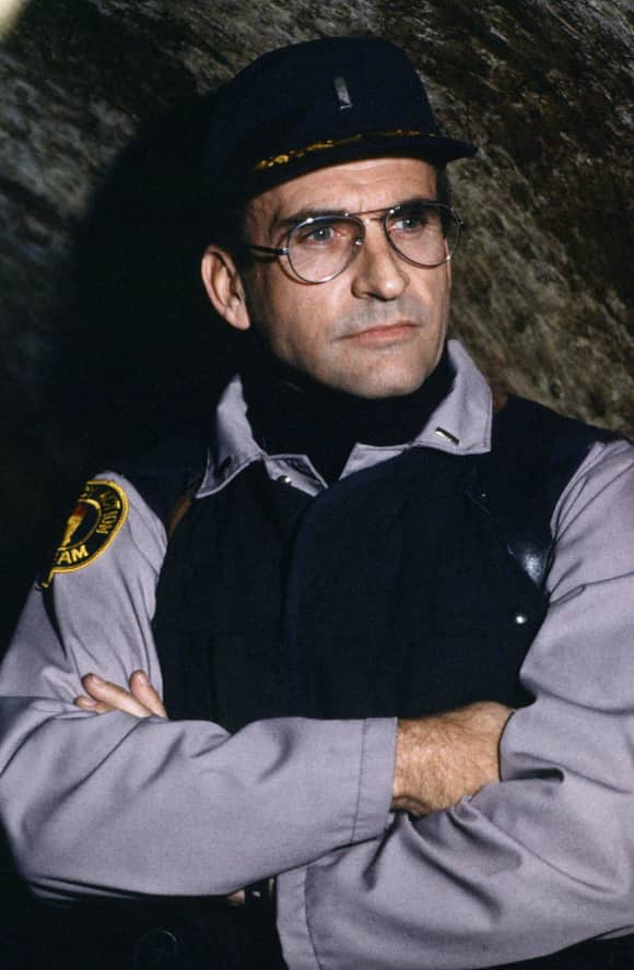 """James Sikking played """"Lt. Howard Hunter"""" on the popular show Hill Street Blues."""