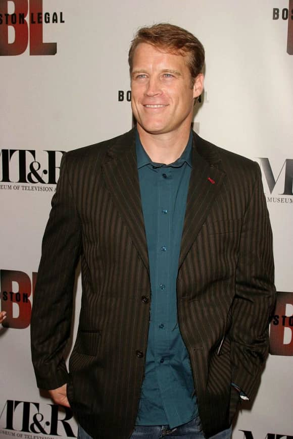 "Mark Valley portrays ""Brad Chase"" on Boston Legal"