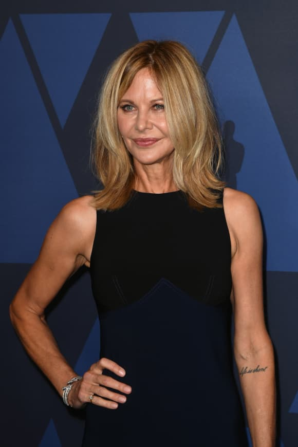 Meg Ryan attends the Academy Of Motion Picture Arts And Sciences' Governors Awards in 2019.