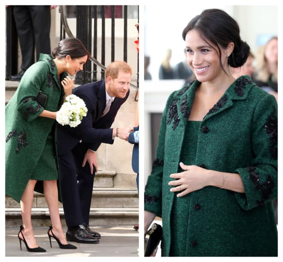 Meghan at an event at Canada House