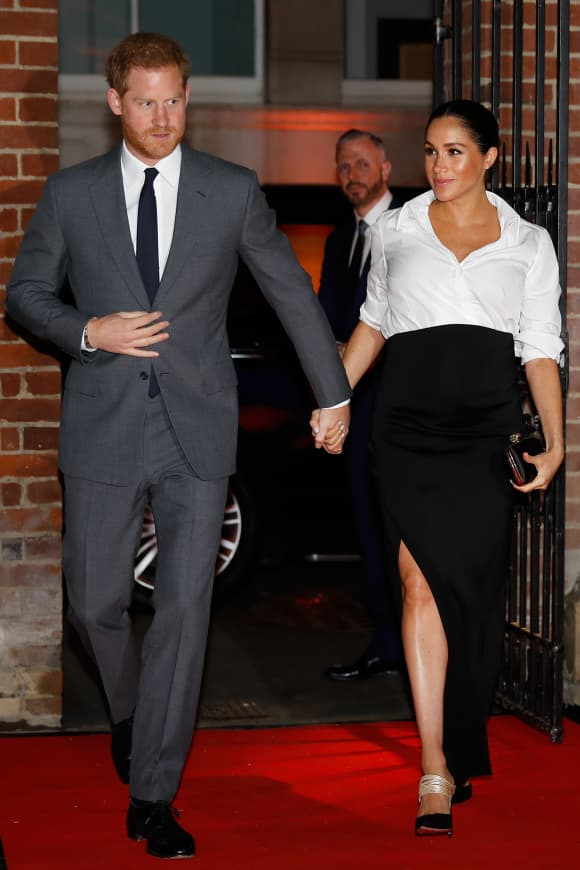 Duchess Meghan at the Endeavour Fund Awards