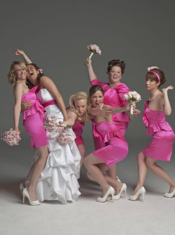 Melissa McCarthy and the cast of 'Bridesmaids'