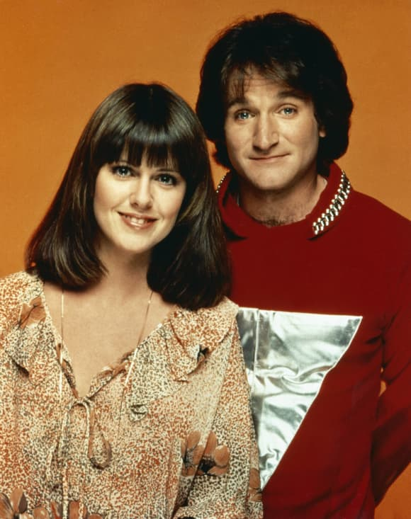 Robin Williams and Pam Dawber starred in 'Mork and Mindy'