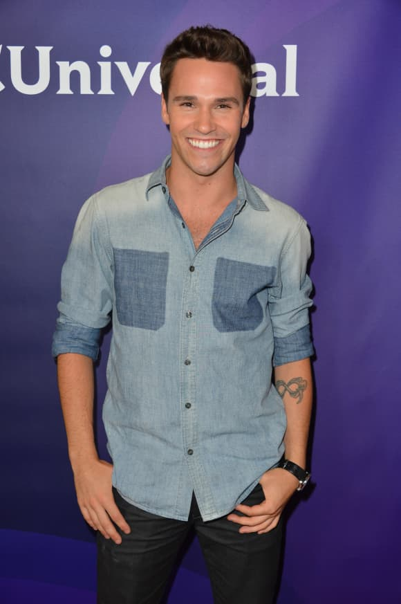 Nick Lazzarini attends the NBC Universal 2012 Summer TCA press tour at The Beverly Hilton Hotel on July 25, 2012