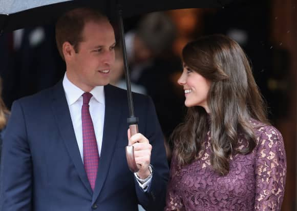 Prince William and Duchess Catherine in 2015