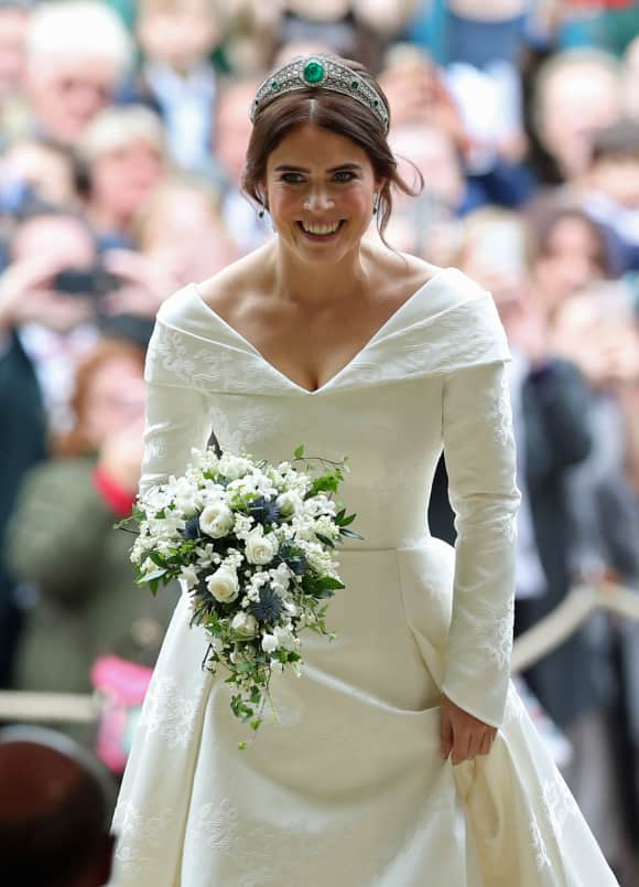 Princess Eugenie Wedding Dress St. George's Chapel Windsor