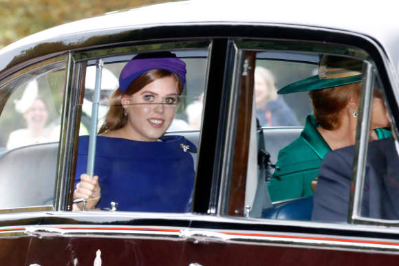 Princess Beatrice St. George's Chapel Windsor Eugenie's Wedding