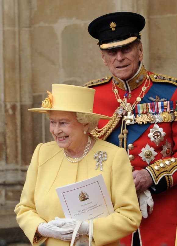 Queen Elizabeth and Prince Philip in 2011