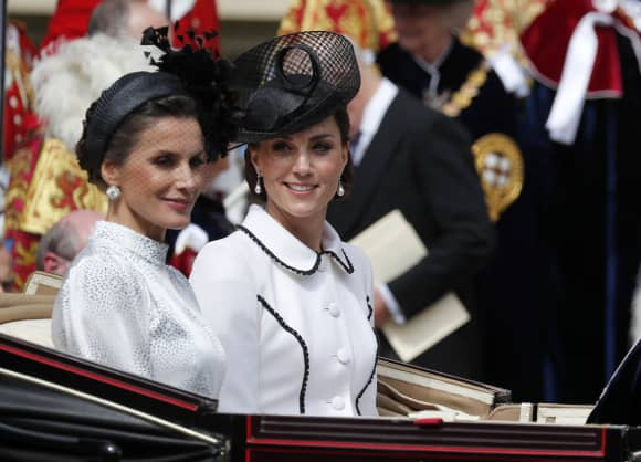 Duchess Catherine and Queen Letizia of Spain