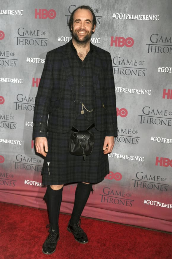 Rory McCann at the Game Of Thrones season 4 premiere, NYC, 2014.