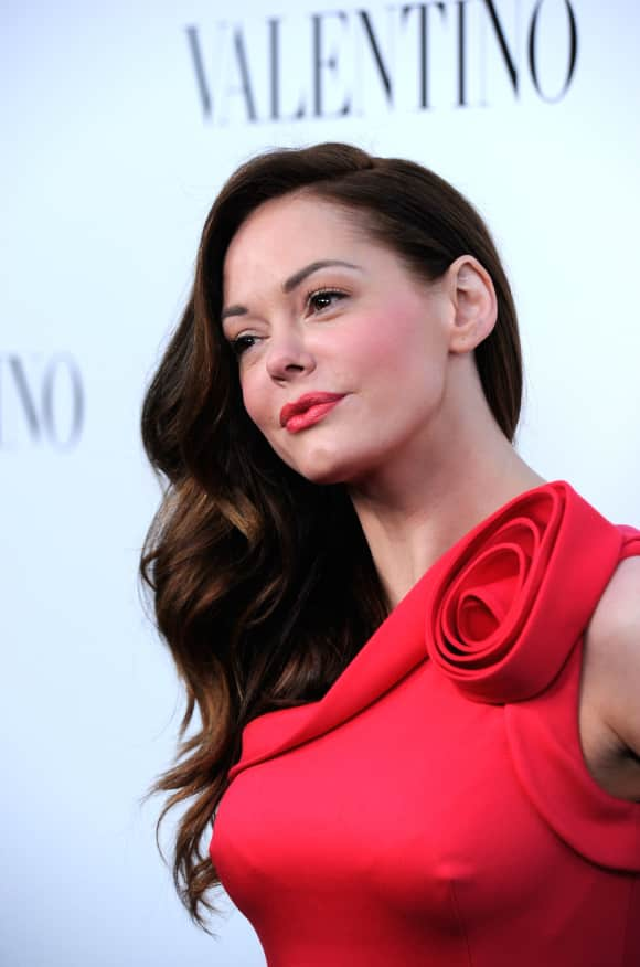 "Rose McGowan played ""Paige Halliwell"" in ""Charmed"""