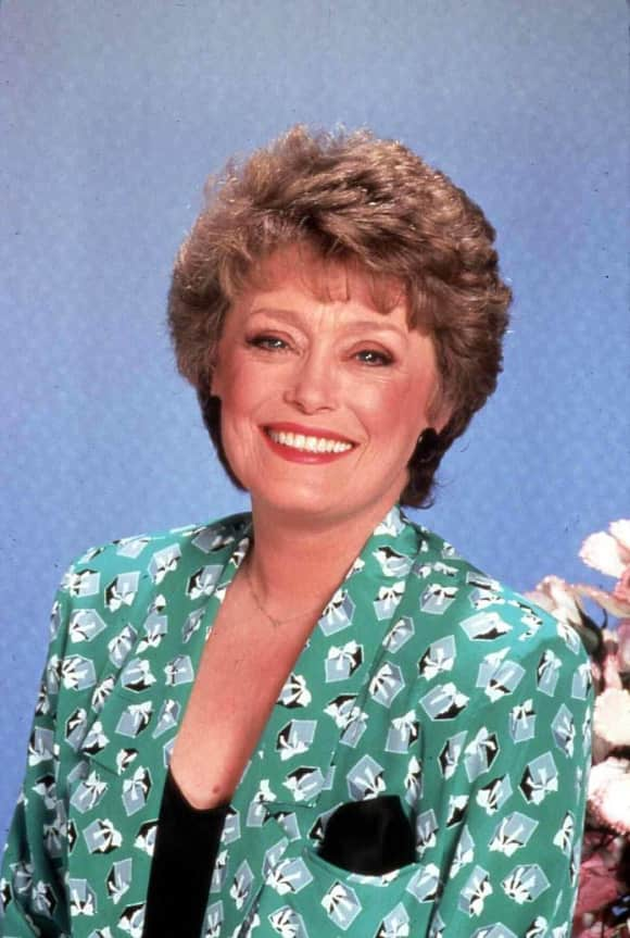 """Rue McClanahan played the role of """"Blanche Devereaux"""" on The Golden Girls"""
