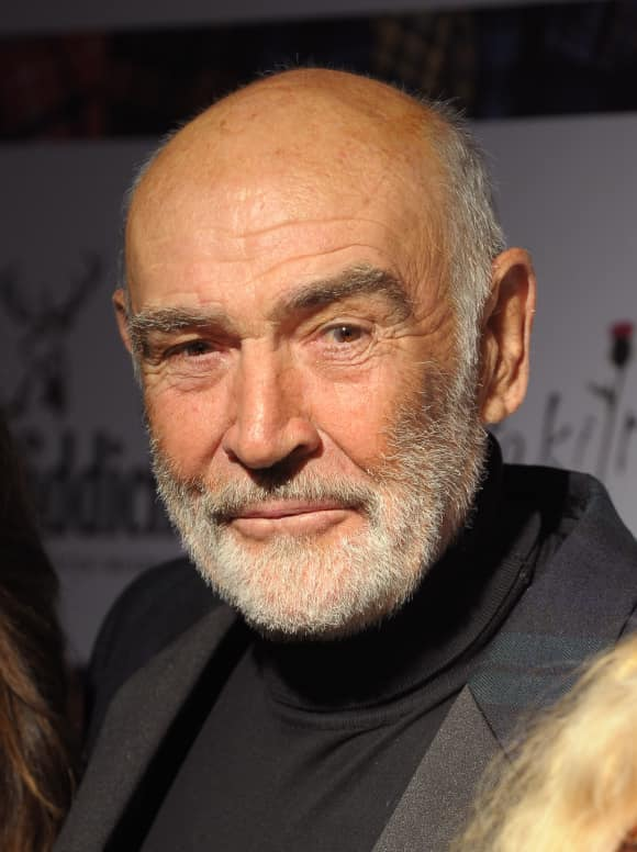 Sean Connery was knighted in 2000