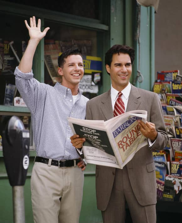 """Sean and Eric McCormack on """"Will & Grace"""""""
