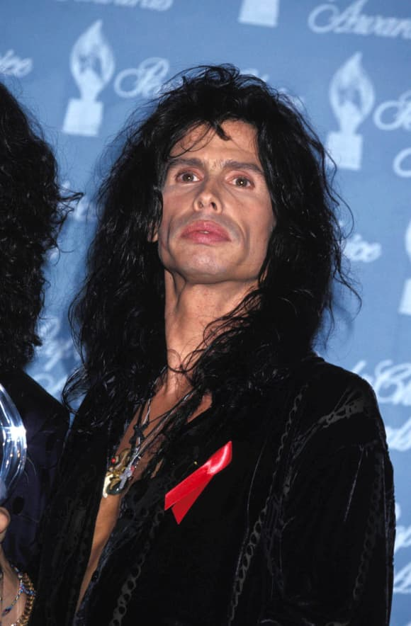 Steven Tyler at the People's Choice Awards 1994