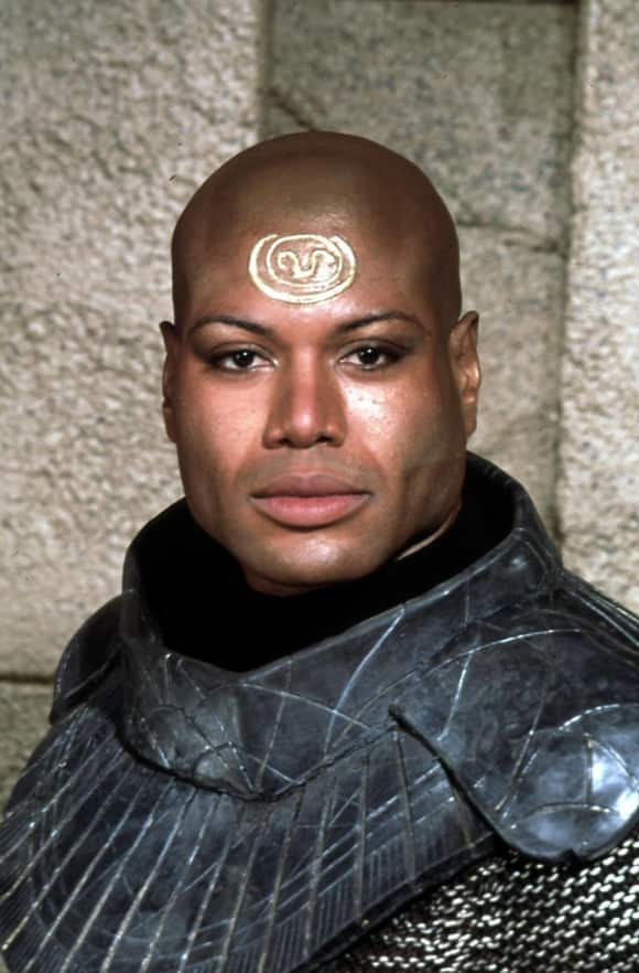 "Christopher Judge alias ""Teal'C"" in ""Stargate SG-1"""