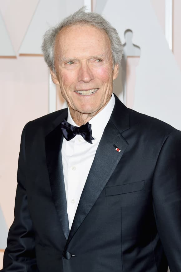 Clint Eastwood in 2015