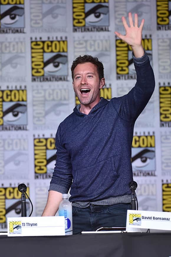 T. J. Thyne at the Comic Con