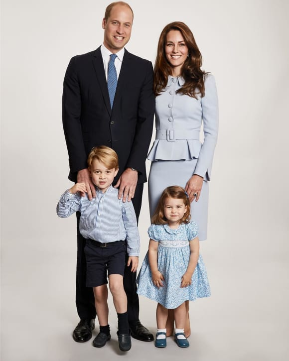 Kensington Palace Christmas Card 2017