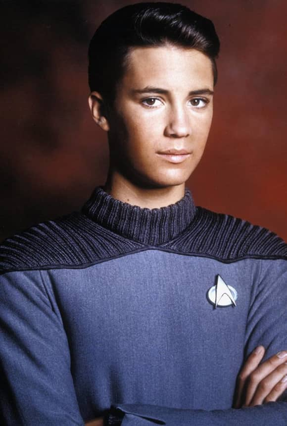"Wil Wheaton played the role of ""Wesley Crusher"" on Star Trek: The Next Generation"
