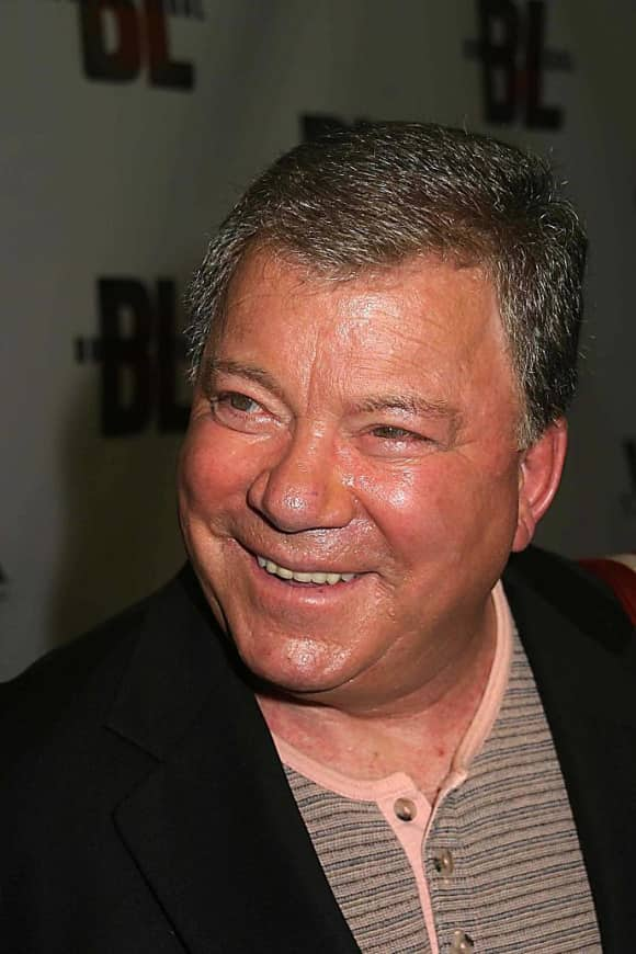 "William Shatner plays "" Denny Crane"" on Boston Legal."