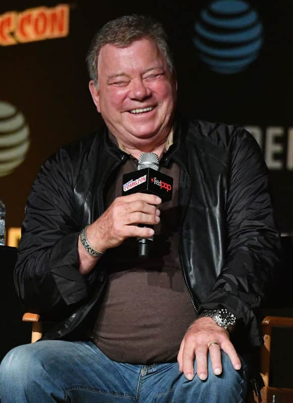 "William Shatner's most famous role is still that of ""Captain James T. Kirk"" in Star Trek."